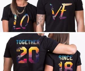 etsy, matching couple, and couple tshirts image