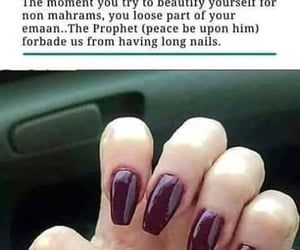 beauty, nails, and modesty image