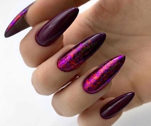 long nails, manicure, and nails image