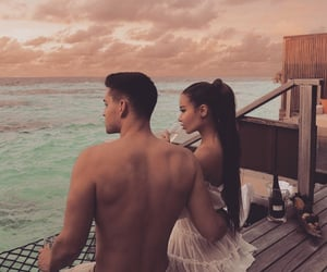 couple, Relationship, and beach image