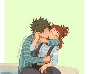 anime, kiss, and romance image