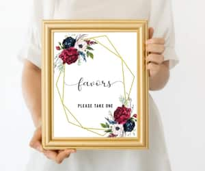 etsy, instant download, and weddingfavors image