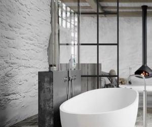 bathroom, grey, and interior design image