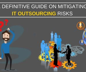 guide, outsourcing, and it outsourcing image