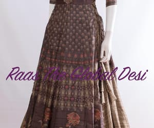 gown, lehenga, and partydress image