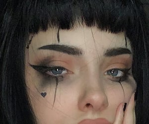 goth, edgy, and emo image