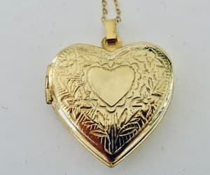 etsy, romantic jewelry, and etched locket image