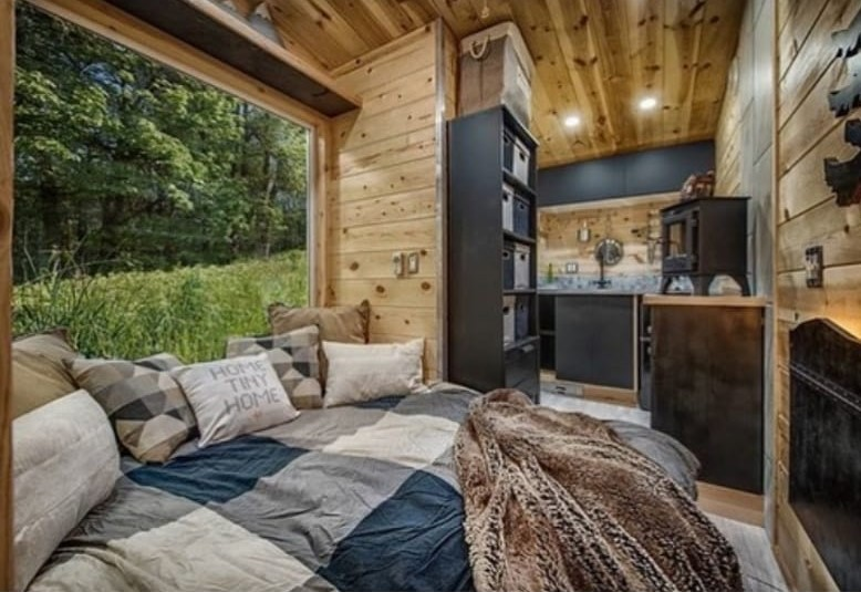 article, tiny home, and dream house image