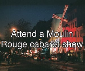 cabaret, moulin rouge, and show image