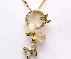 cat eye stone, hkzoemall zoemall jewelry, and for girls women image