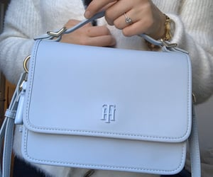 baby blue, bag, and blue image