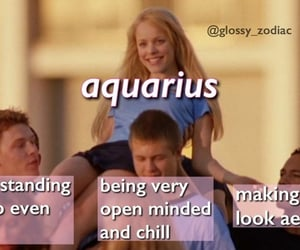 aquarius, zodiac signs, and horoscopes image