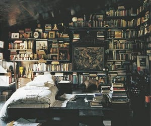 apartment therapy, book collector, and bibliophiles image