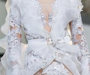 fashion, elie saab, and white image