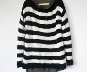etsy, striped sweater, and punk mohair jumper image