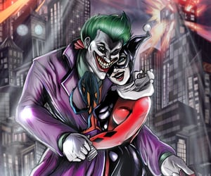 DC, mad love, and harley quinn image
