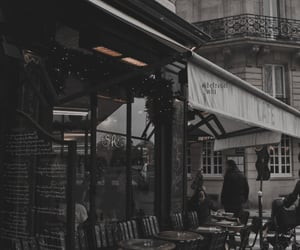 cafe, city, and coffee image