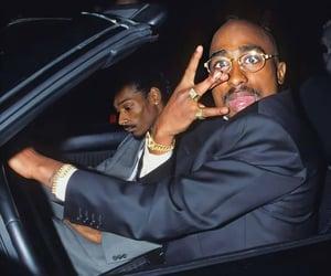 gangsta, snoop, and tupac image