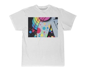 etsy, graphic art, and cotton t-shirt image