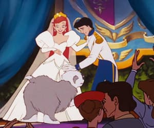 ariel, boy, and bride image