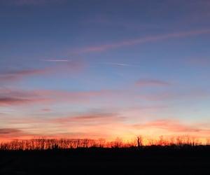 blu, blue, and sunset image