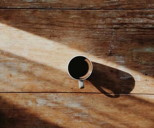 coffee, morning, and wood image