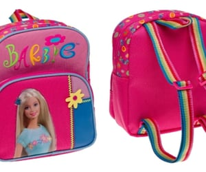backpack, pink, and barbie image