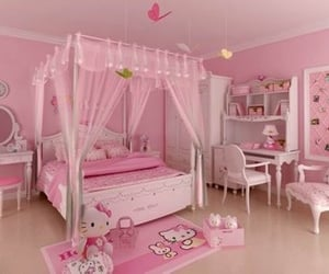 hello kitty, agere, and pink image