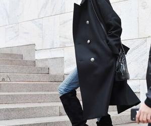anja rubik, womenswear, and coat image