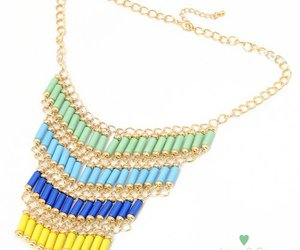 beautiful and necklace image