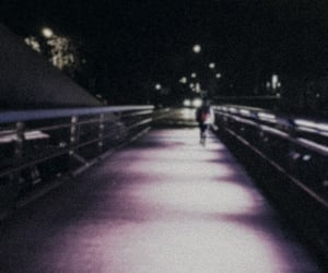 bridge, memories, and night image