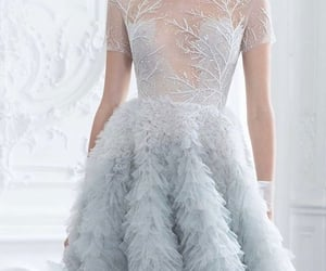 blue, fashion, and tulle image