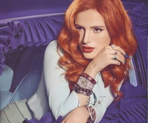 beauty, photoshoot, and red head image