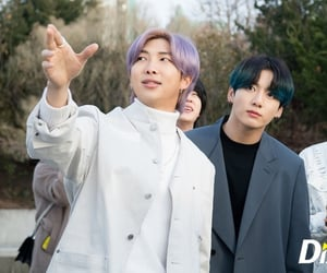 bts, jungkook, and rm image