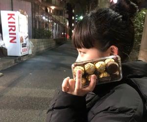 chocolate, japanese girl, and korea image