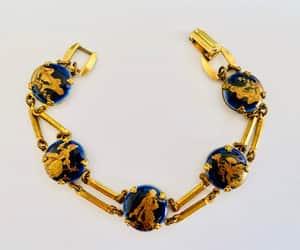 dark blue, etsy, and estate jewelry image