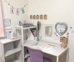 aesthetics, desk, and motivation image