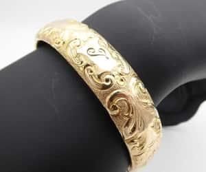 etsy, victorian style, and bangle bracelet image