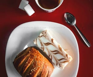 breakfast, coffee, and croisant image
