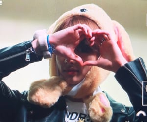 boy, heart, and fansign image
