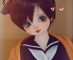 anime, ball joint doll, and doll image