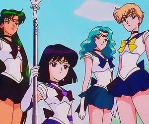 anime, luna, and manga image