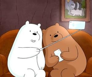 we bare bears, bears, and cartoon image