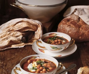 bread, food, and rustic image
