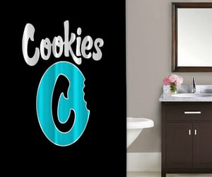autumn, Cookies, and shower curtain image