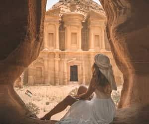travel, desert, and girl image