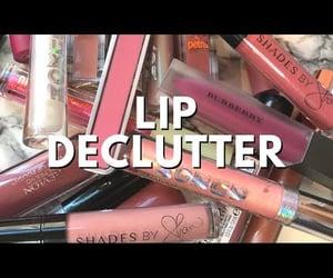 beauty, lip gloss, and makeup image