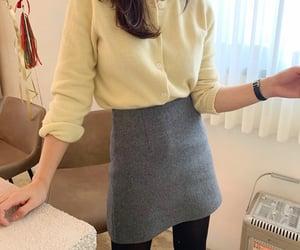 a-line, kpop fashion, and asian fashion image