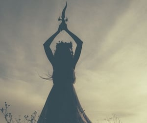nature, witch, and witchcraft image