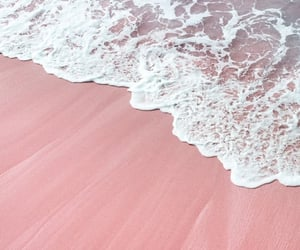 wallpaper, pink, and sea image